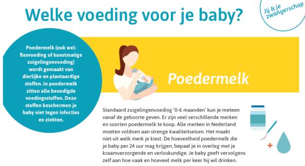 Nieuwe Knov Leaflet Welke Voeding Voor Je Baby Kraam Support