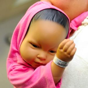 Robotbaby voor kwetsbare ouders
